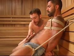 sauna tube porn video