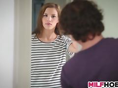 Luring MILF Bangs Teens porn tube video