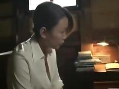 Horny Japanese Mature  Sucking And Fucking Cock Ja