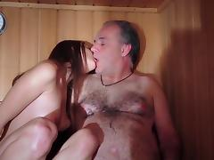 Dad Fucked Beautiful Virgin Young Pussy Gives Blowjob Gaggin tube porn video