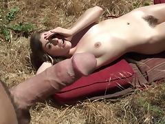 it is not safe to sunbathe naked @ bush league #09