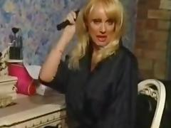 Louise hodges using a pink dildo porn tube video