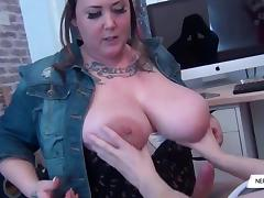 Busty Tattiana Cock Sucking