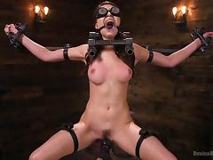 Bound, BDSM, Bondage, Bound, Fingering, Screaming