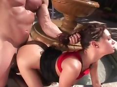 Hottest pornstar Tory Lane in horny fishnet, outdoor xxx video