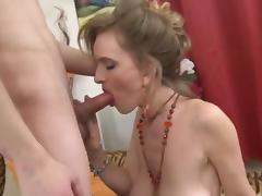 Mom and Boy, Big Tits, Boobs, Fucking, Mature, MILF