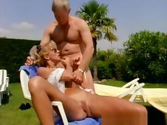 Horny pornstar T.J. Hart in exotic facial, blonde porn clip