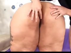 Ssbbw loves anal sex