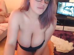 #2 MK busty big boobs cam girl masturbating porn tube video