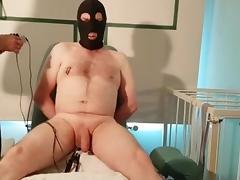 Electricity Balls Sewn Needles tube porn video