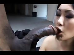 Black, Asian, Ass, Big Cock, Black, Blowjob