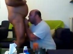 Daddy, BBW, Blowjob, Chubby, Chunky, Fat