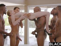 Big Cock, Banging, Big Cock, Gangbang, Group, Interracial