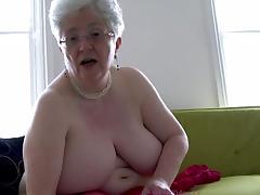 British, British, Stockings, Big Natural Tits