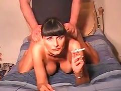 Smoking milf ass fucked talking dirty tube porn video