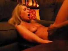 Hot white milf lives for his bbc