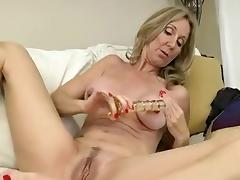 Fabulous Homemade movie with Toys, Blonde scenes porn tube video