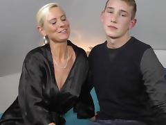 Milf fucks a realy junior boy porn tube video