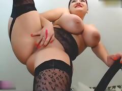 Girl big tits masturbating and squirting porn tube video