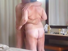 Mature couple fuck on holiday porn tube video