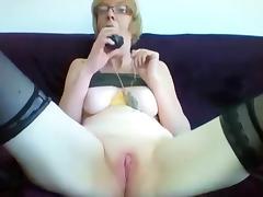 Grandma, Amateur, Fetish, Granny, Horny, Masturbation