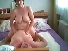 Petra and Jürgen's bedroom porn tube video