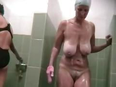 Bathroom, Bath, Bathing, Bathroom, Boobs, Mature