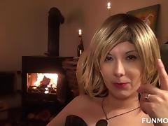 Fetish, Blonde, Blowjob, Crossdresser, Fetish