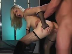 Crazy pornstar Aaralyn Barra in exotic fishnet, blonde xxx scene porn tube video