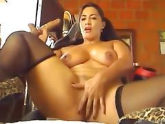 Mature latin woman webcam show