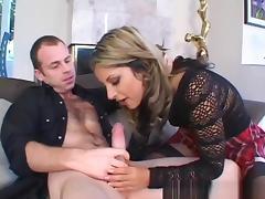 Crazy pornstar Gia Jordan in fabulous swallow, blonde xxx movie