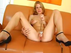 Incredible pornstar in horny solo girl, masturbation sex video porn tube video