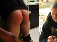 Coed, Ass, College, Punishment, Spanking, Teen
