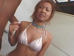 Crazy Japanese girl in Best Showers, Outdoor JAV movie