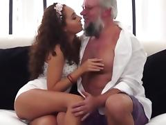 All, Fucking, Old Man, Teen, Old and Young, Dad and Girl