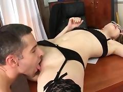 School drilling with sexy Kandall N porn tube video