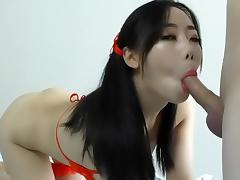 Red underwear, beautiful anal sex porn tube video