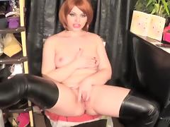 Little Hot Redhead Riding And Sloppy Bj A Big Cock porn tube video