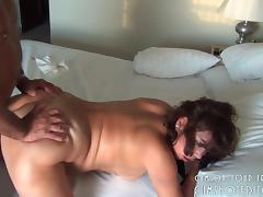 Chubby Horny Wife Taking It From Behind porn tube video
