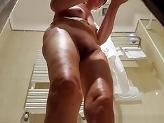 Bath, Bath, Bathing, Bathroom, Legs, Mature