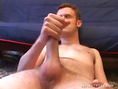 Amateur Nate Beating Off porn tube video