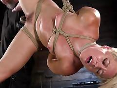 Bound, BDSM, Blonde, Bound, MILF, Nude