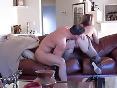 Wife Fucked Hard Against Couch porn tube video