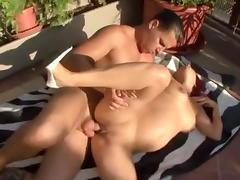 Pregnant, Amateur, Big Tits, Boobs, Cumshot, Outdoor