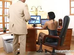 Office, Anal, Assfucking, Big Tits, Blowjob, Couple
