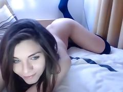 Webcam, Amateur, Homemade, Small Tits, Solo, Webcam