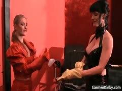 Dirty Carmen in perverse hard core sandm
