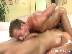 Gay sixtynine with horny hot studs