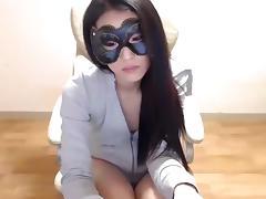 Webcam, Amateur, Asian, Masturbation, Solo, Webcam