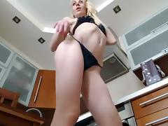 SexyBlondzia amateur video on 11/11/15 06:22 tube porn video